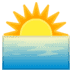 🌅 sunrise Emoji on Google Platform
