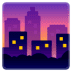 🌆 cityscape at dusk Emoji on Google Platform