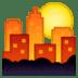 🌇 sunset Emoji on Google Platform