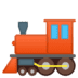 🚂 locomotive Emoji on Google Platform