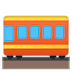 🚃 railway car Emoji on Google Platform