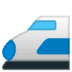 🚅 bullet train Emoji on Google Platform