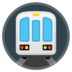 🚇 metro Emoji on Google Platform
