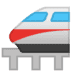 🚝 monorail Emoji on Google Platform