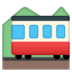 🚞 mountain railway Emoji on Google Platform