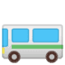 🚌 bus Emoji on Google Platform