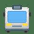 🚍 Oncoming Bus Emoji on Google Platform