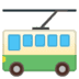 🚎 trolleybus Emoji on Google Platform