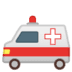 🚑 ambulance Emoji on Google Platform
