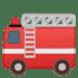 🚒 fire engine Emoji on Google Platform