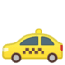 🚕 taxi Emoji on Google Platform