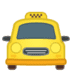 🚖 oncoming taxi Emoji on Google Platform