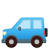 🚙 sport utility vehicle Emoji on Google Platform