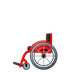 🦽 manual wheelchair Emoji on Google Platform