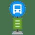 🚏 bus stop Emoji on Google Platform