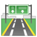 🛣️ motorway Emoji on Google Platform