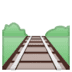 🛤️ railway track Emoji on Google Platform