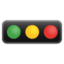 🚥 horizontal traffic light Emoji on Google Platform