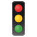 🚦 vertical traffic light Emoji on Google Platform