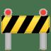 🚧 construction Emoji on Google Platform