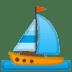 ⛵ sailboat Emoji on Google Platform