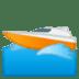 🚤 Speedboat Emoji on Google Platform