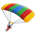 🪂 parachute Emoji on Google Platform