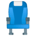 💺 seat Emoji on Google Platform