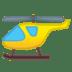 🚁 helicopter Emoji on Google Platform