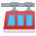 🚟 suspension railway Emoji on Google Platform