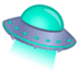 🛸 flying saucer Emoji on Google Platform