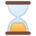 ⌛ hourglass done Emoji on Google Platform