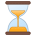 ⏳ Hourglass Not Done Emoji on Google Platform