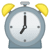 ⏰ alarm clock Emoji on Google Platform