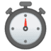 ⏱️ Stopwatch Emoji on Google Platform