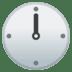🕛 twelve o'clock Emoji on Google Platform