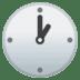 🕐 one o'clock Emoji on Google Platform