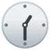 🕜 One-Thirty Emoji on Google Platform
