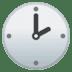 🕑 two o'clock Emoji on Google Platform
