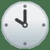 🕙 ten o'clock Emoji on Google Platform