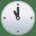 🕚 eleven o'clock Emoji on Google Platform
