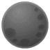 🌑 new moon Emoji on Google Platform