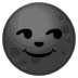 🌚 new moon face Emoji on Google Platform