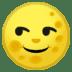 🌝 Full Moon Face Emoji on Google Platform
