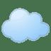 ☁️ cloud Emoji on Google Platform