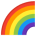 🌈 rainbow Emoji on Google Platform