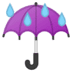 ☔ umbrella with rain drops Emoji on Google Platform