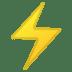 ⚡ High Voltage Emoji on Google Platform