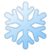 ❄️ snowflake Emoji on Google Platform
