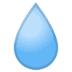 💧 droplet Emoji on Google Platform